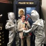 Seventh Doctor Cosplay with Cybermen