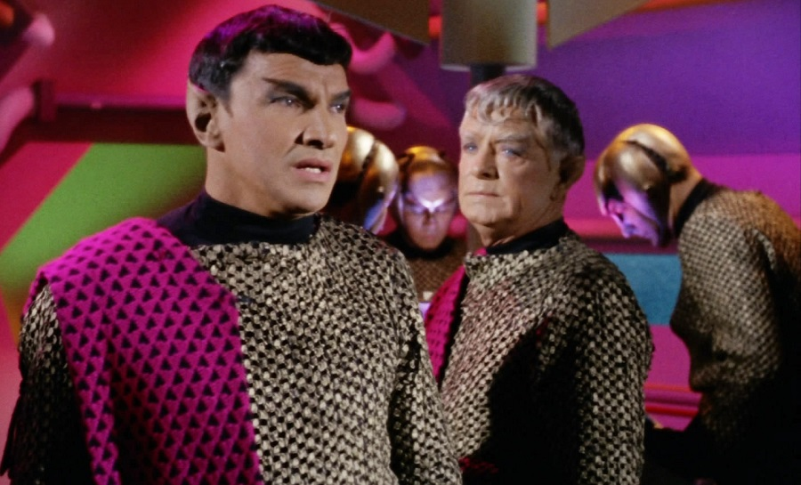 star trek romulans balance of terror