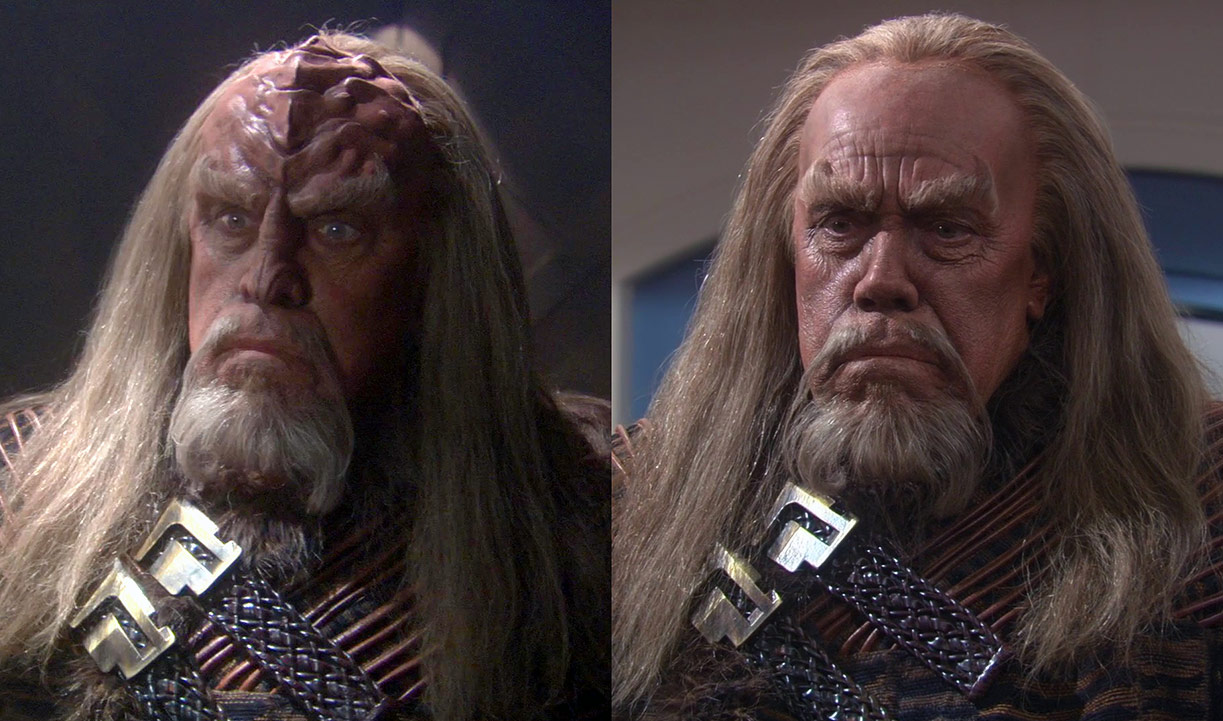 star trek klingons augment